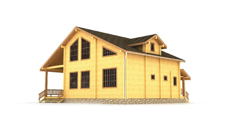Проект дома ДК25