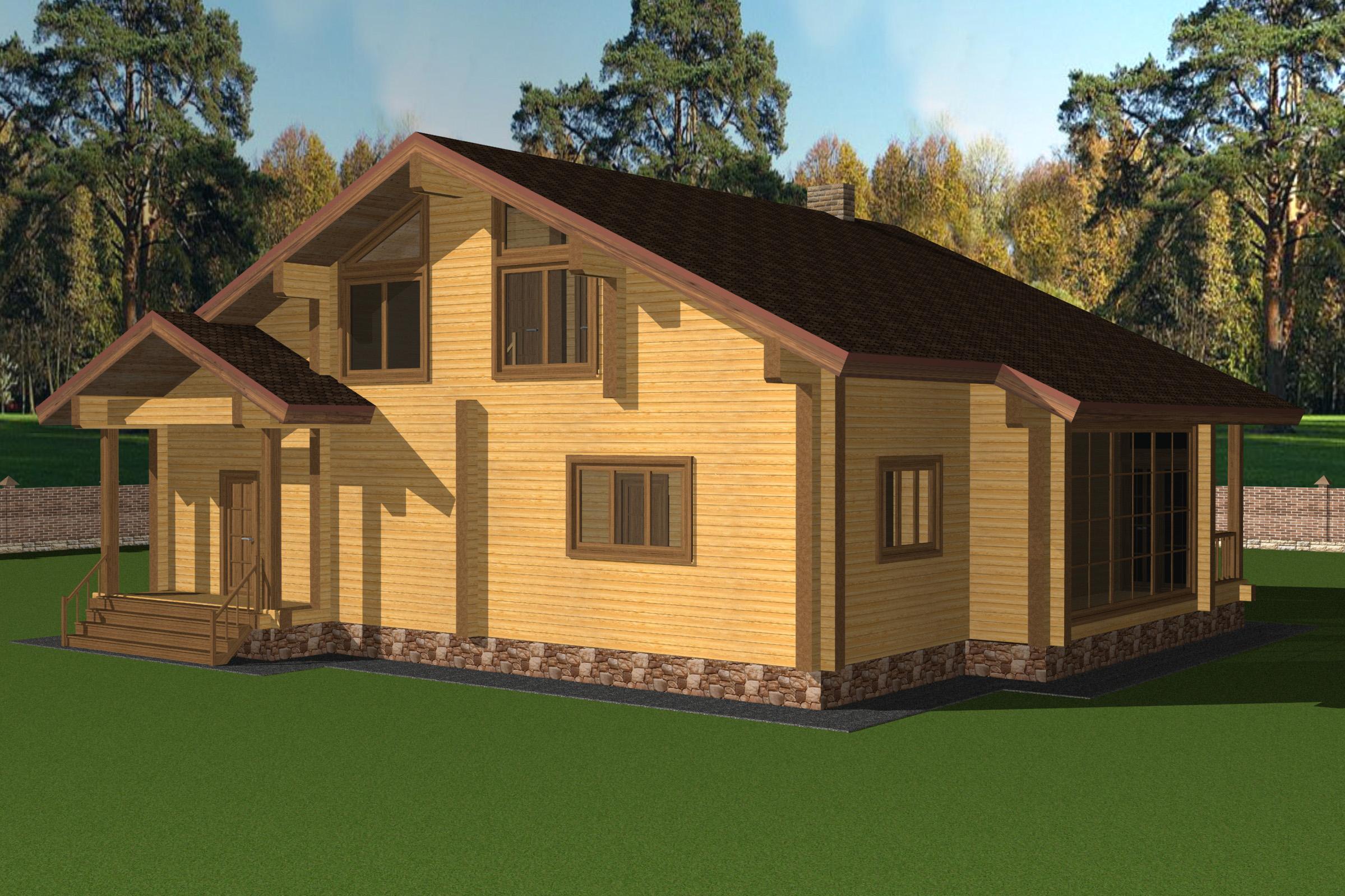 Проект дома ДК26