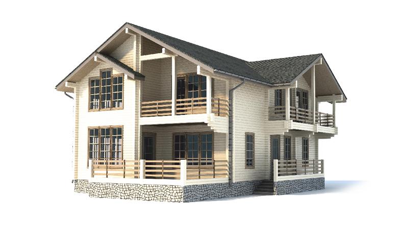 Проект дома ДК28