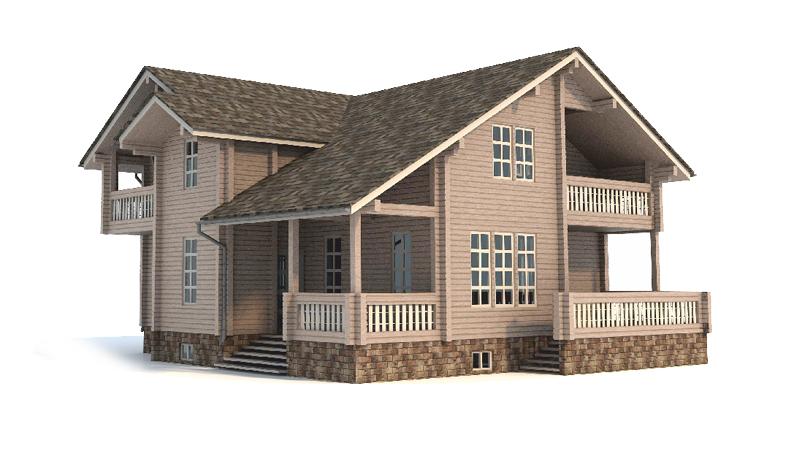 Проект дома ДК32