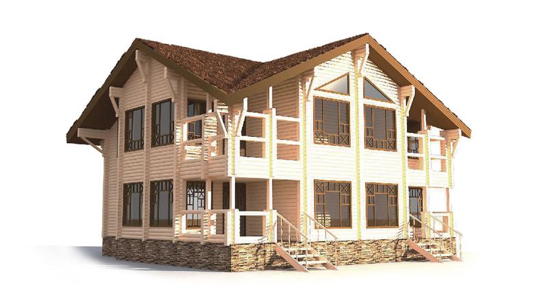 Проект дома ДК33