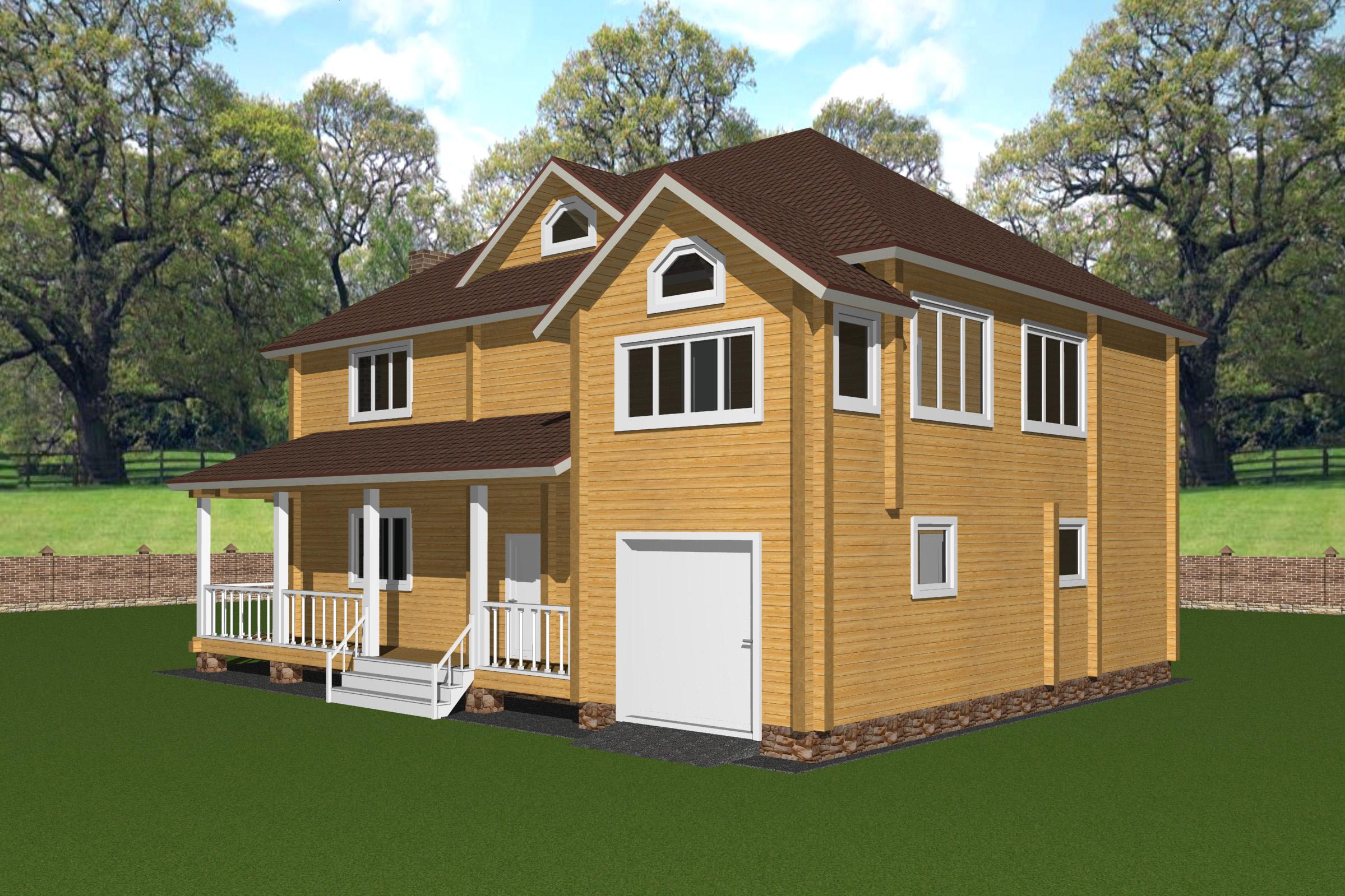 Проект дома ДК35