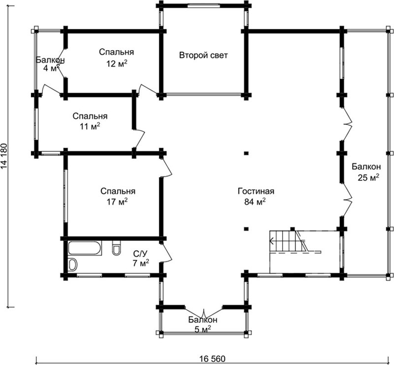 Проект дома ДК38