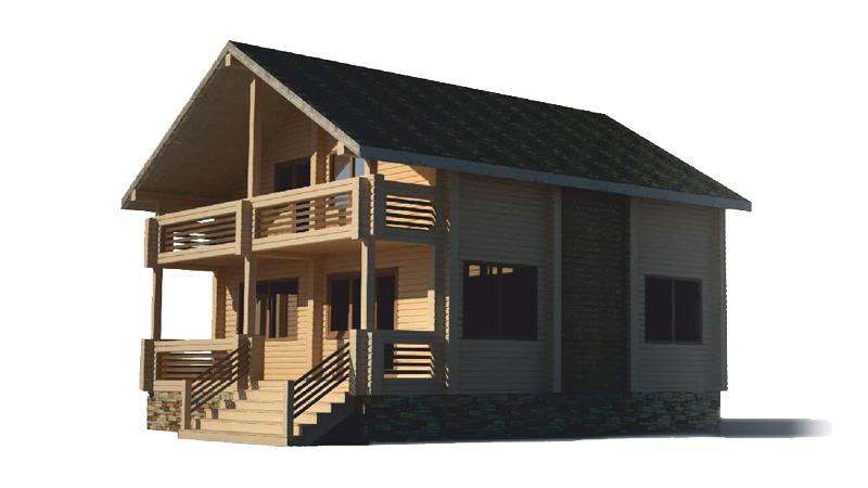 Проект дома ДК9