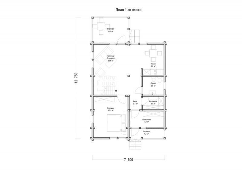Проект дома ДП №41