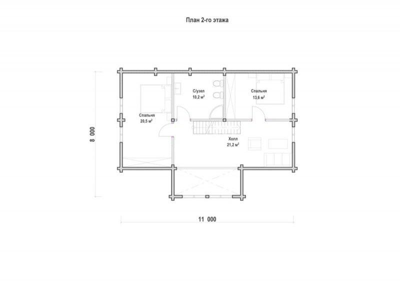 Проект дома ДП №30
