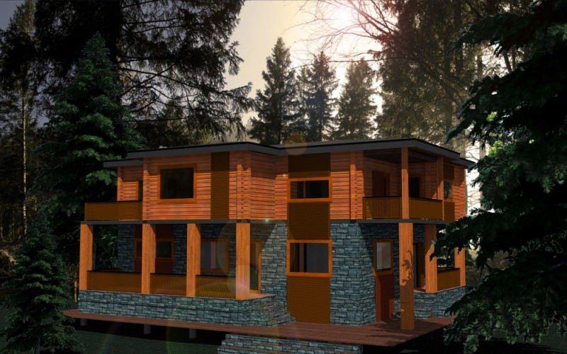 Проект дома ДП №39