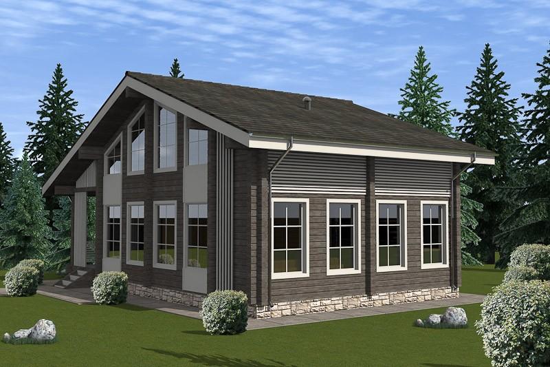 Проект дома ДП №55