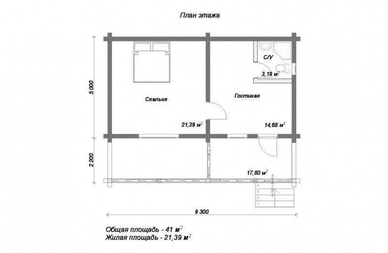 Проект дома ДП №27