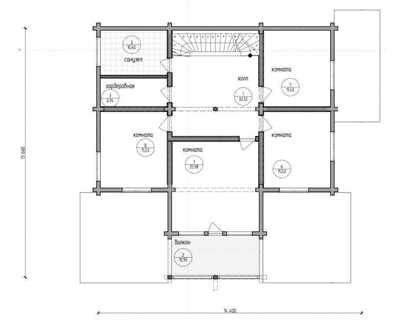 Проект дома ДП №42