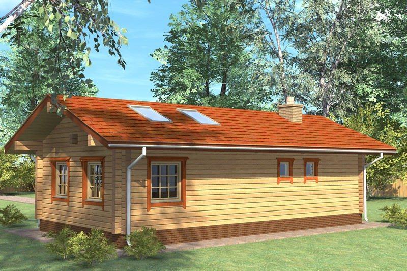 Проект дома ДП №26