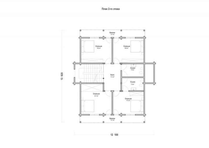 Проект дома ДП №67