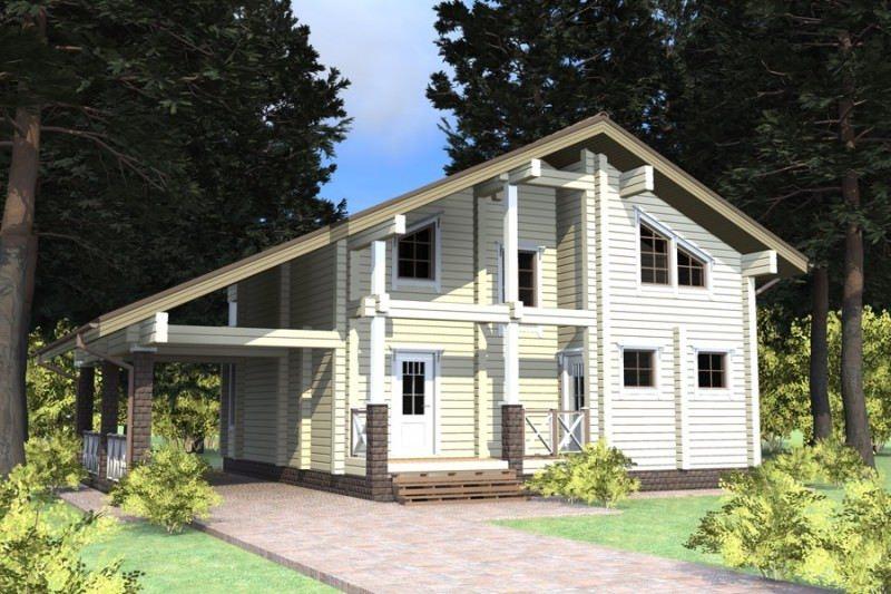 Проект дома ДП №136