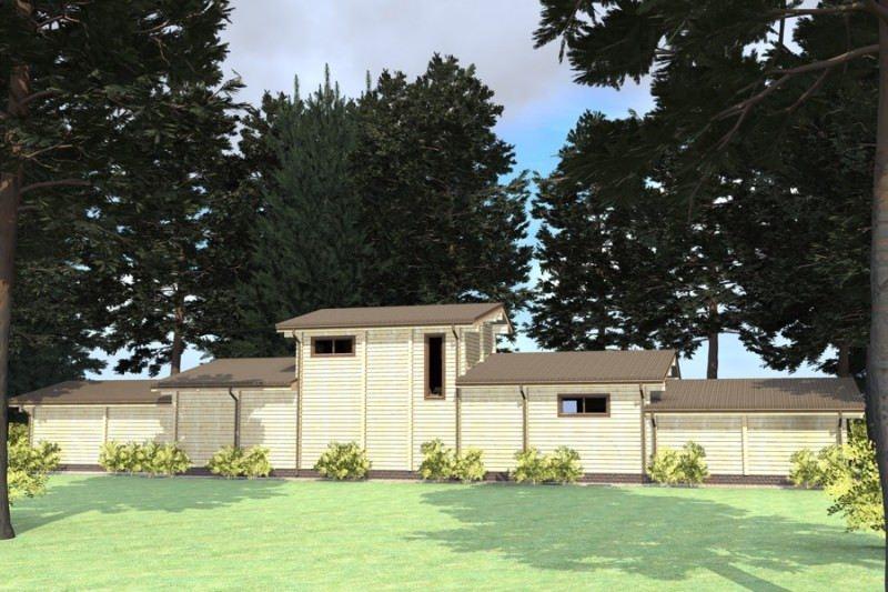 Проект дома ДП №195