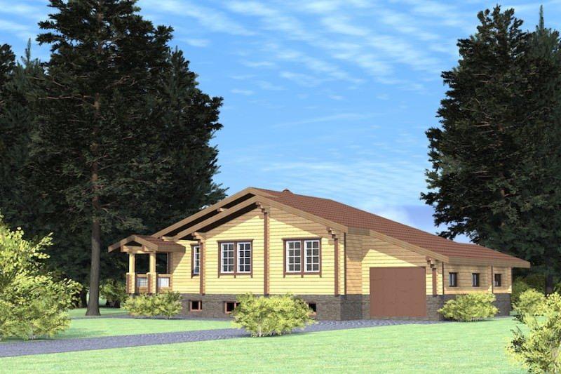 Проект дома ДП №166