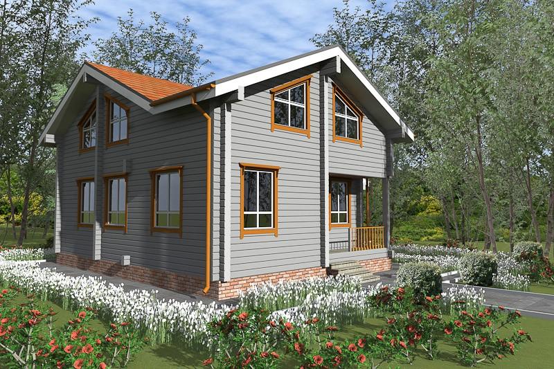 Проект дома ДП №91