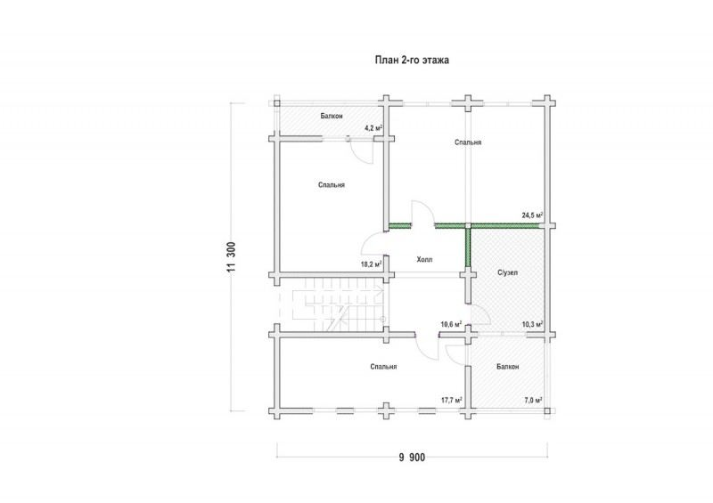 Проект дома ДП №155