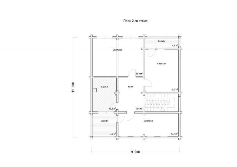 Проект дома ДП №210