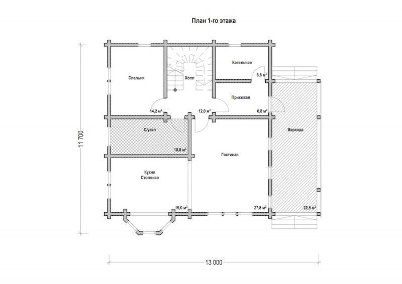 Проект дома ДП №199