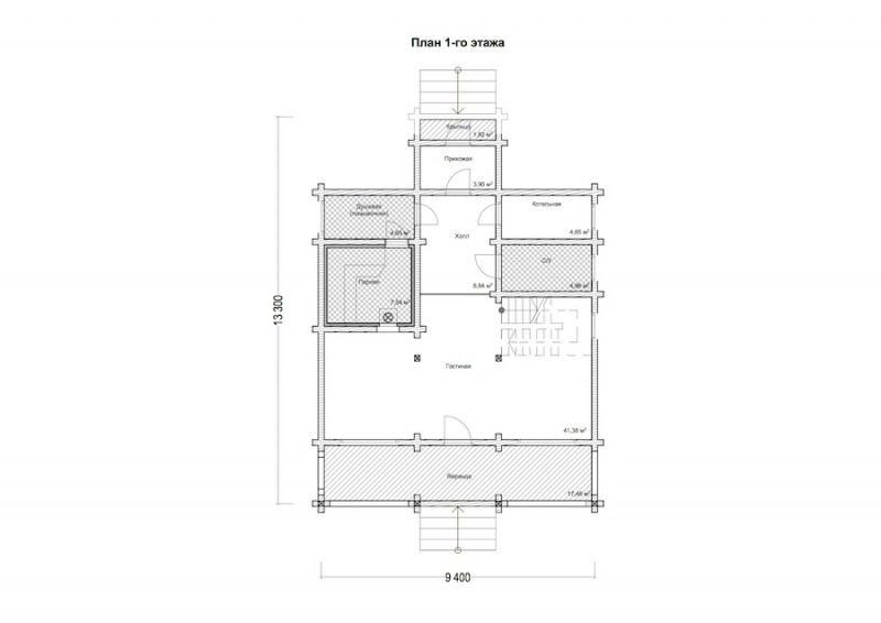 Проект дома ДП №127