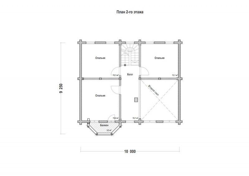Проект дома ДП №87