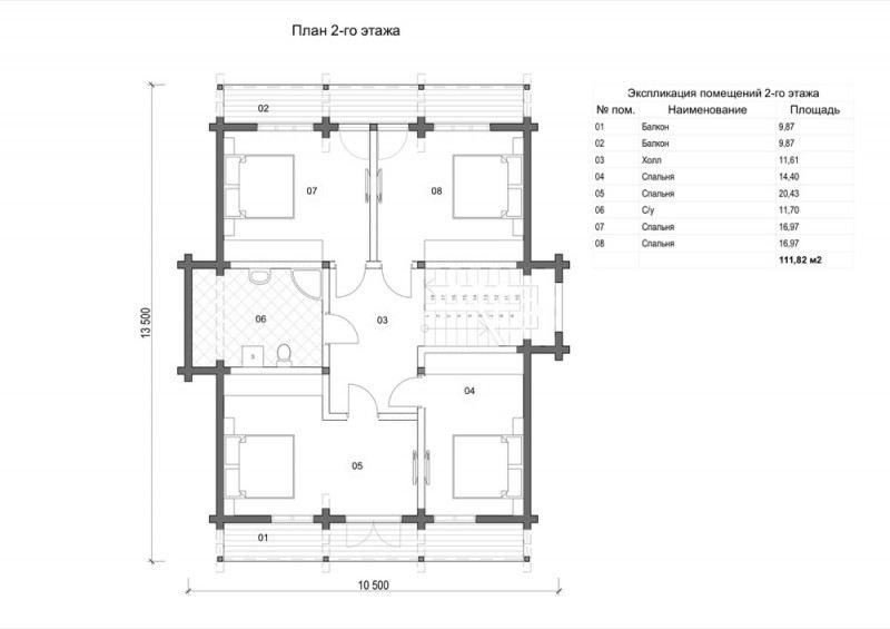 Проект дома ДП №76