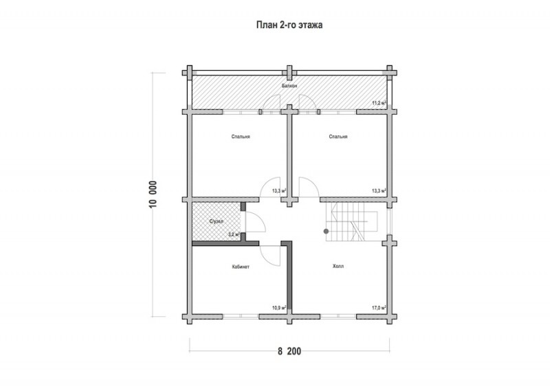 Проект дома ДП №128