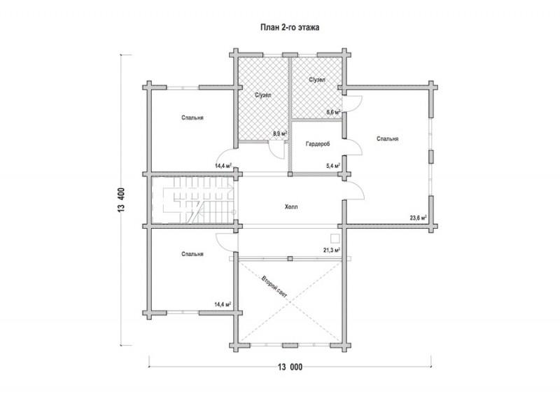 Проект дома ДП №99
