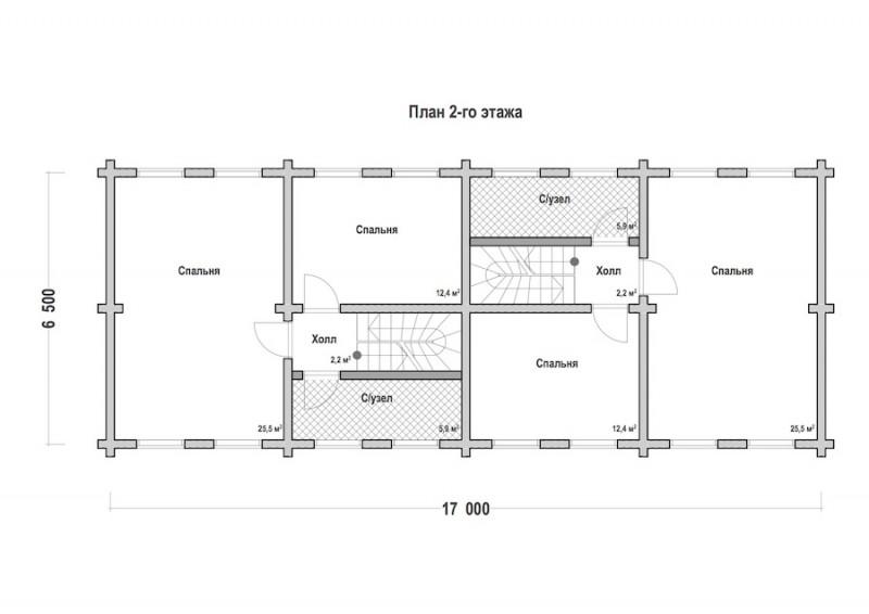 Проект дома ДП №206