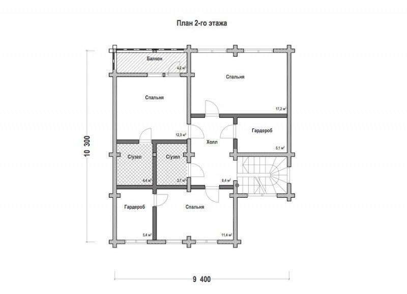 Проект дома ДП №123