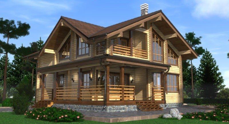 Проект дома ДП №124