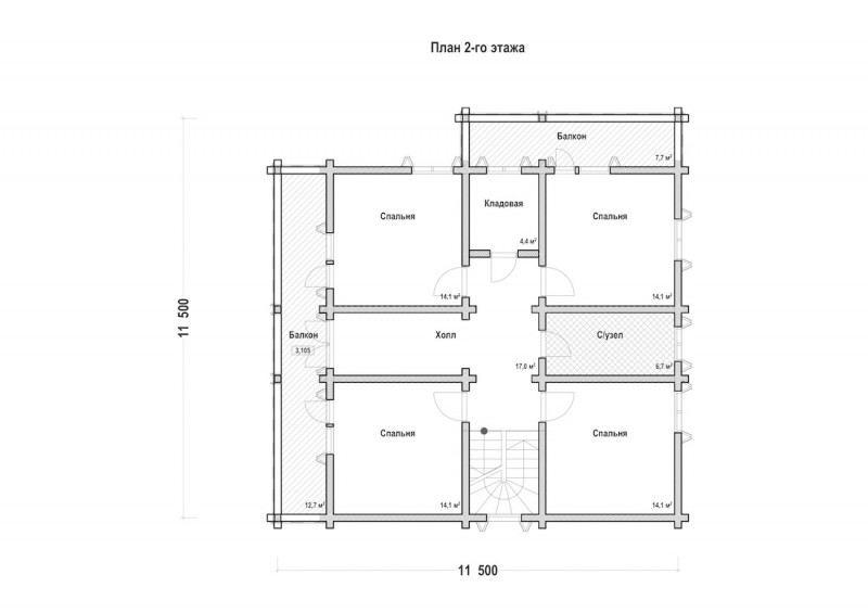 Проект дома ДП №211