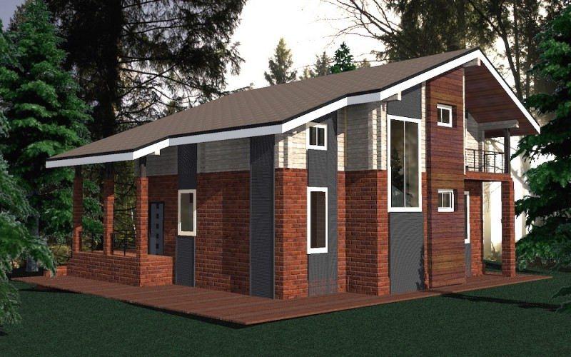 Проект дома ДП №63