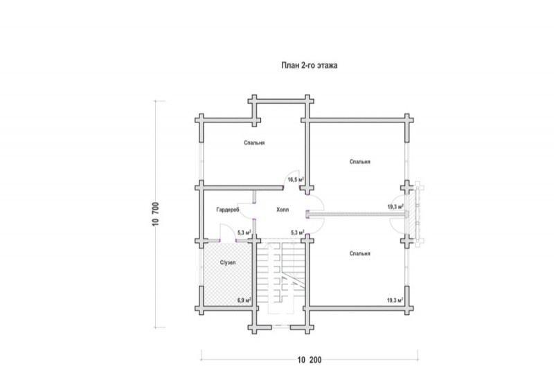 Проект дома ДП №139