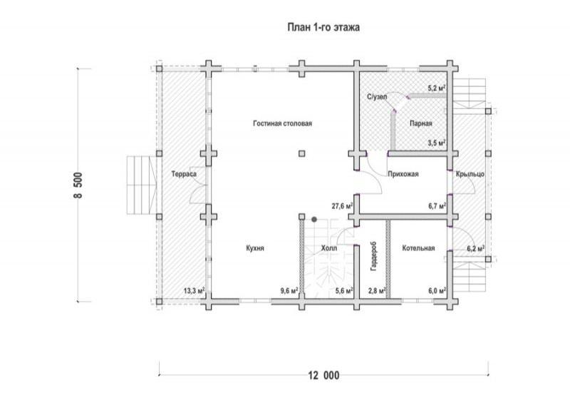 Проект дома ДП №106