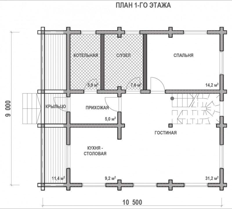 Проект дома ДП №90