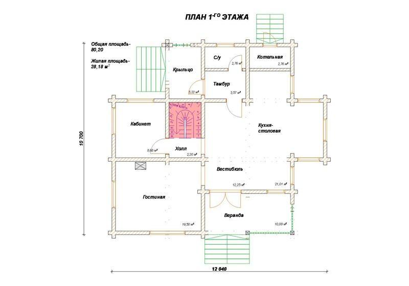 Проект дома ДП №198