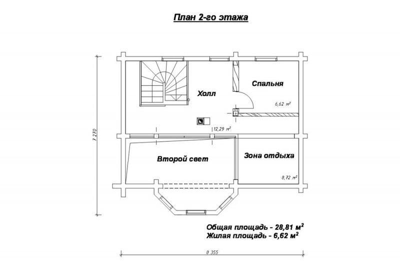 Проект дома ДП №64