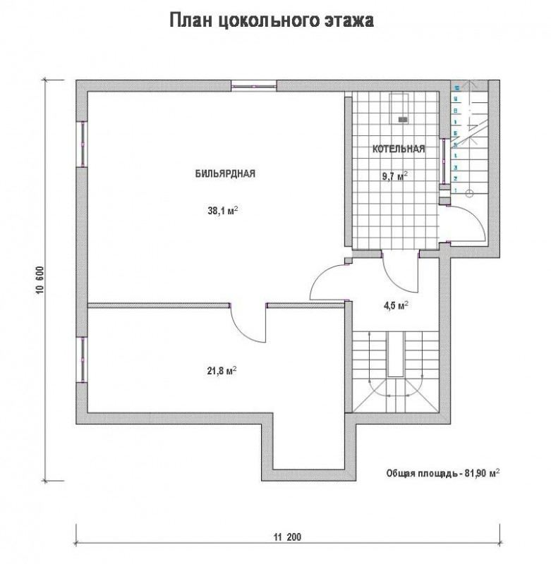 Проект дома ДП №111