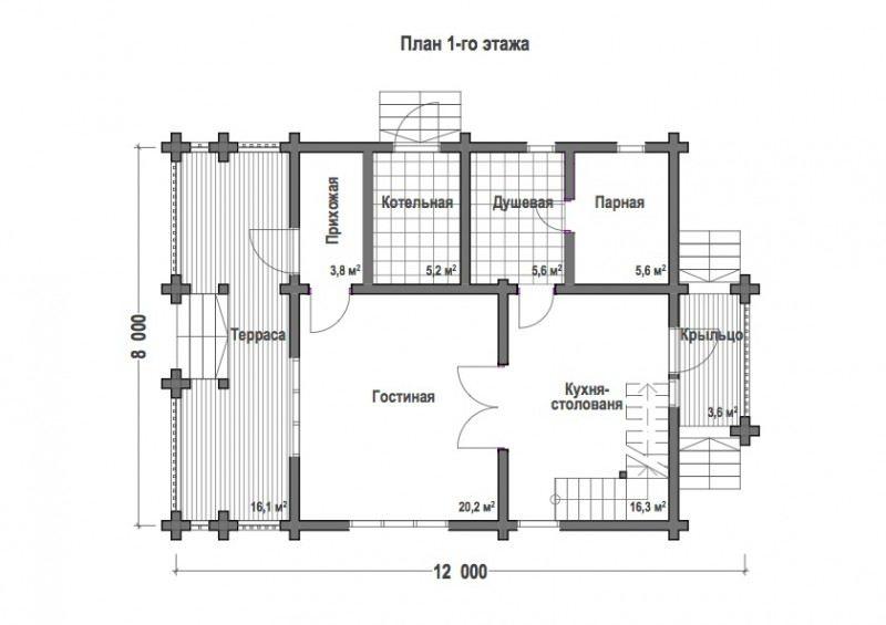Проект дома ДП №104