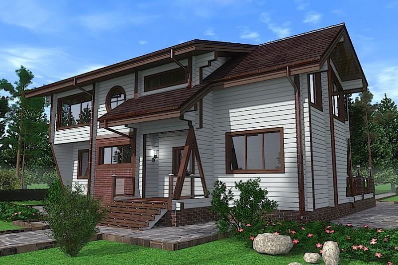 Проект дома ДП №158