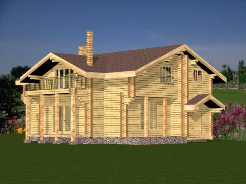 Проект дома ДП №163