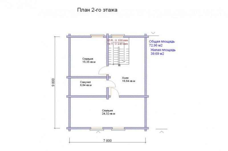 Проект дома ДП №120