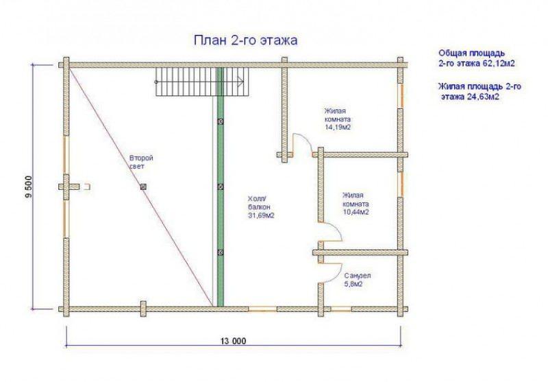 Проект дома ДП №194