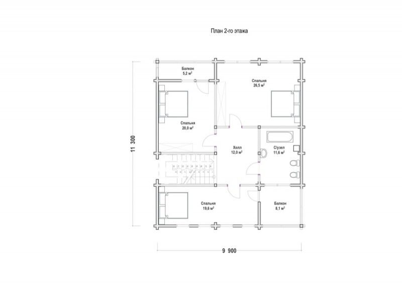 Проект дома ДП №71