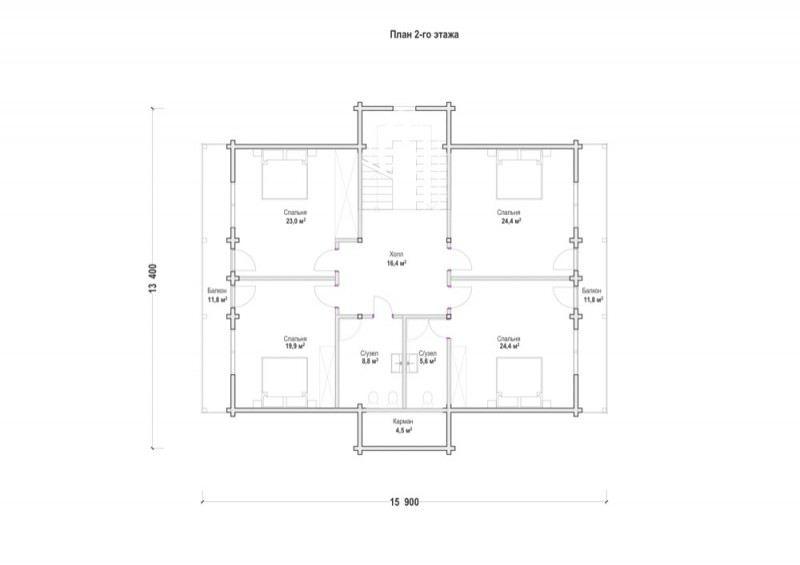 Проект дома ДП №68