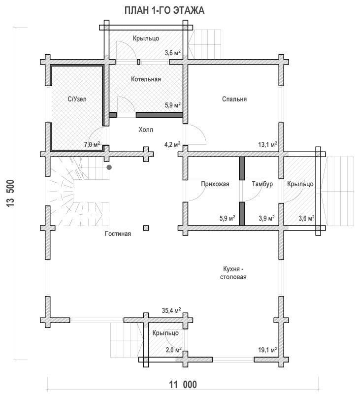 Проект дома ДП №182