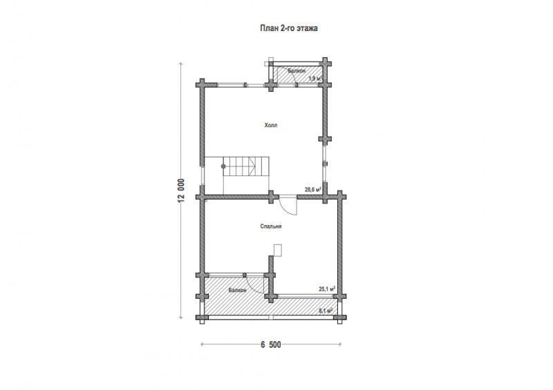 Проект дома ДП №78