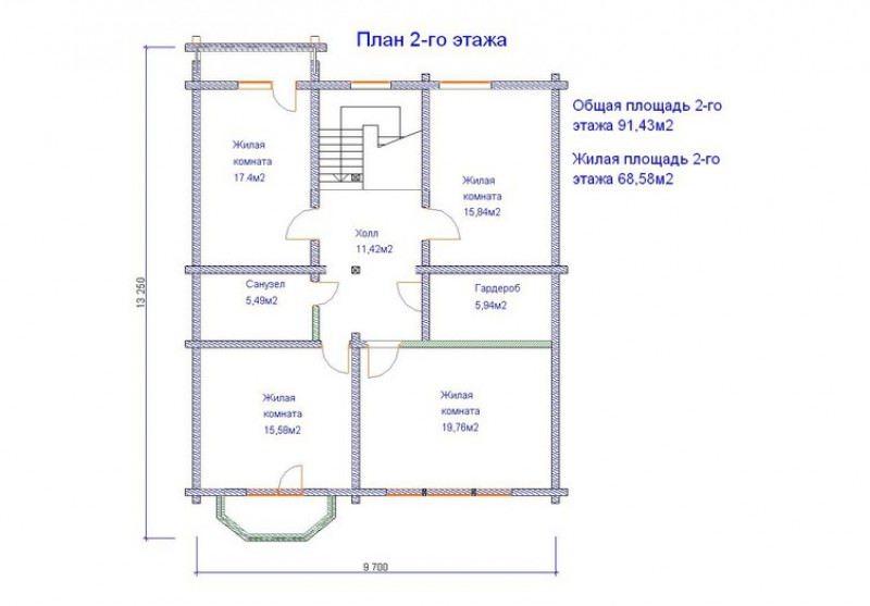 Проект дома ДП №203