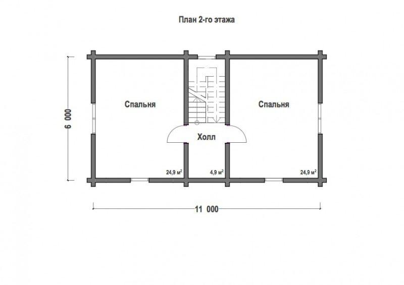 Проект дома ДП №86